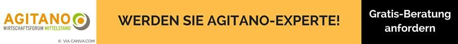 Werden Sie Agitano Experte Banner