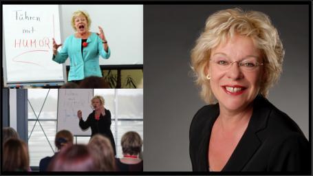 Jumi Vogler ist Kommunikations- & Humorexpertin. Sie arbeitet als Autorin, Coach und Speaker.