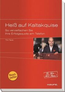 """Tim Taxis Bestseller """"Heiß auf Kaltakquise"""" jetzt auch als Hörbuch"""