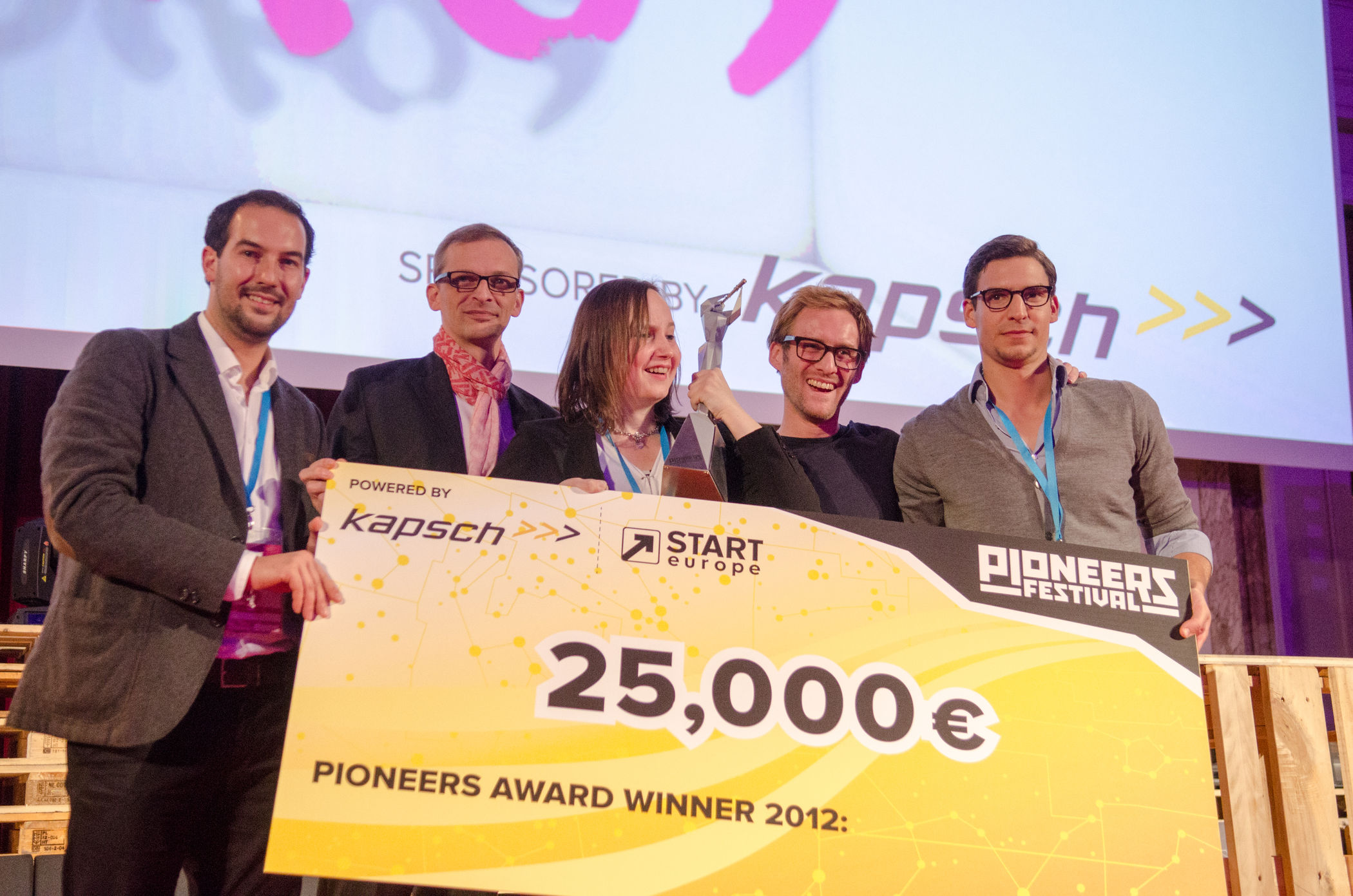 Poikos gewinnt Start-up Challenge / Bild: Heisenberg Media