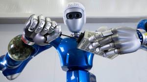 SpaceJustin: Leichtbauroboter im Montage-Einsatz