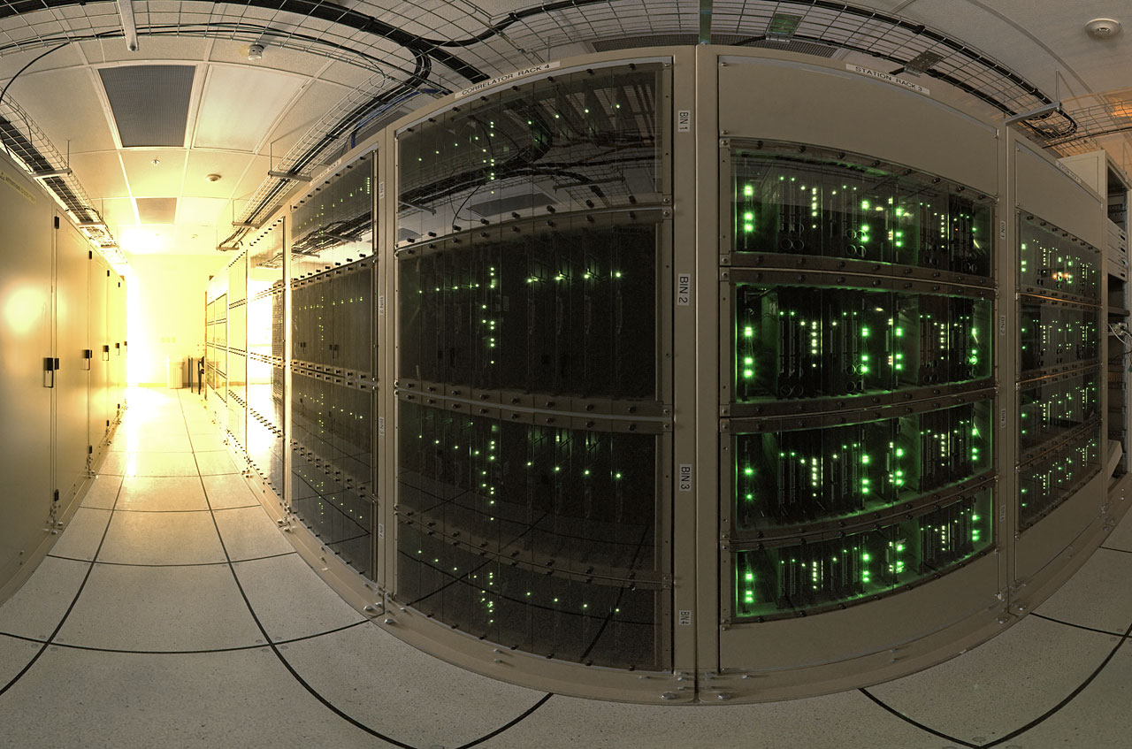 ALMA-Korrelator: Höchstgelegener Supercomputer der Welt in Chile