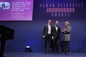 HR Excellence Award 2012 - mit Frau Dr. Eckel