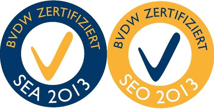 SEA, SEO, Qualitätszertifikat, BVDW