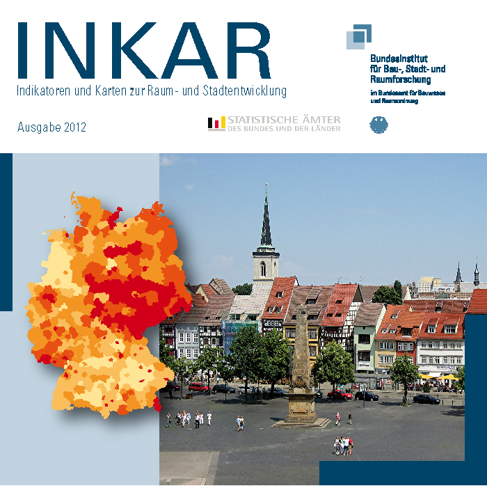 INKAR: Deutschlandkarten machen Lebenslagen anschaulich