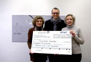 Kindertafel Spendenaktion der TWT Interactive GmbH