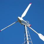 Kleinwindanlage von Aerocraft