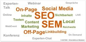 SEO, SEM, Online, Internet, Social Media, Content