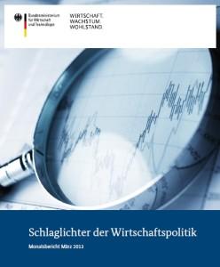Schlaglichter der Wirtschaftspolitik / Quelle: BMWi