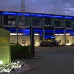 Firmensitz von Framus & Warwick in Markneukirchen im sächsischen Vogtland