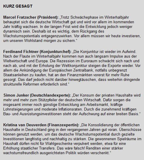 DIW, Konjunktur, Wirtschaft, Deutschland