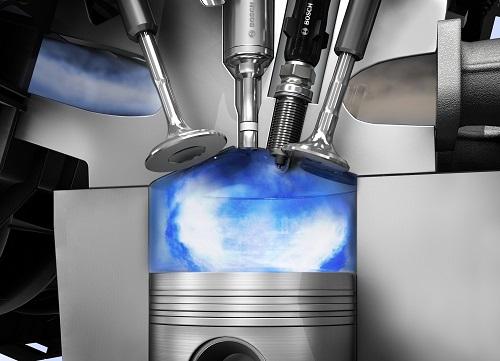 Benzinmotor, Ottomotor, Verbrennungsmotor, Fremdzündung, Zylinder