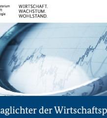 Bild: Schlaglichter der Wirtschaftspolitik / BMWi