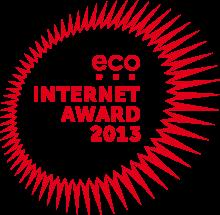 eco Internet Award 2013, eco - Verband der Deutschen Internetwirtschaft e.V.