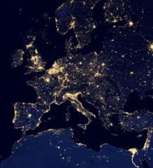 Europa, EU, NASA, Nacht