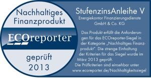 Stufenzinsanleihe_Energiekontor_ECOsiegel