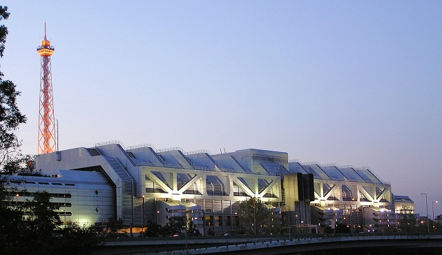 Messe Berlin ICC und Funkturm
