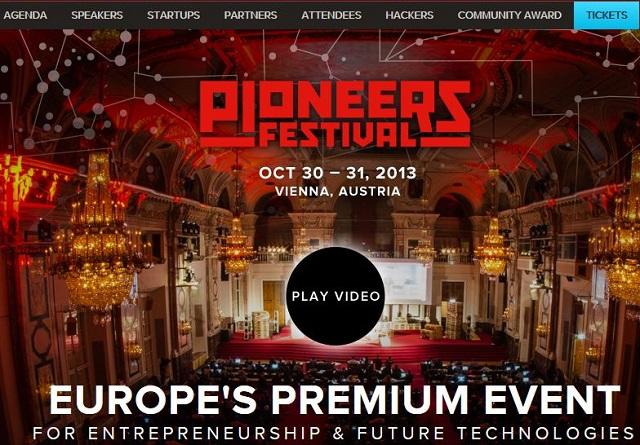 Pioneers Festival 2013