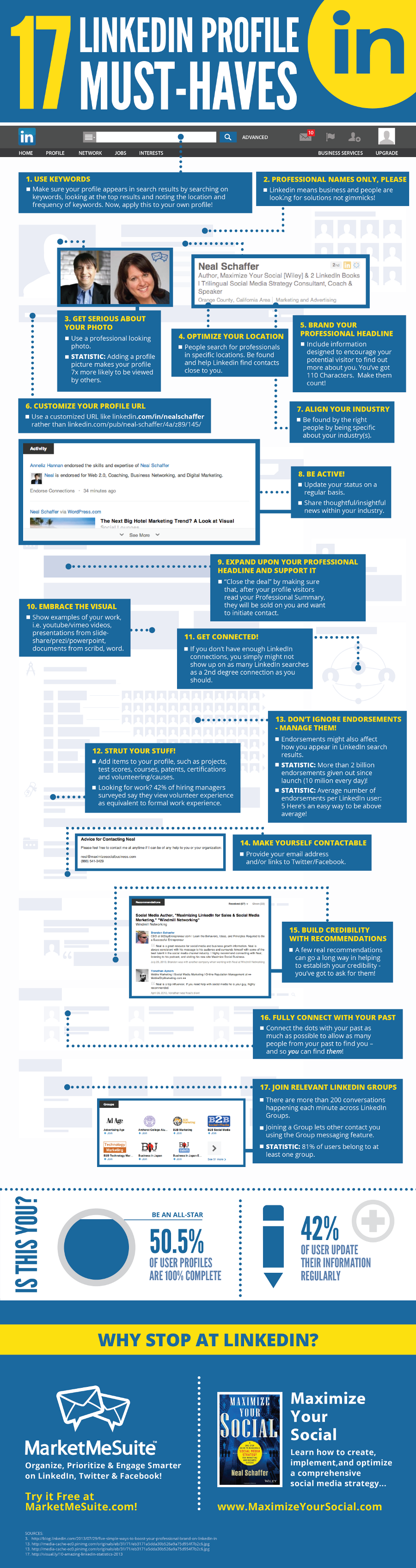 LinkedIn Profile Tips