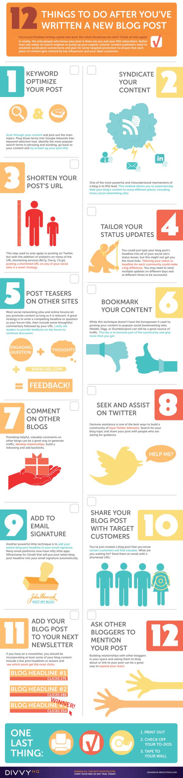 Sichtbarkeit des eigenen Blogbeitrags verbessern