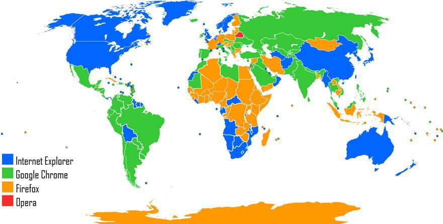 Der weltweit beliebteste Webbrowser