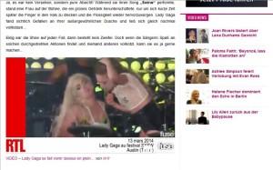 Lady Gaga, Millie Brown