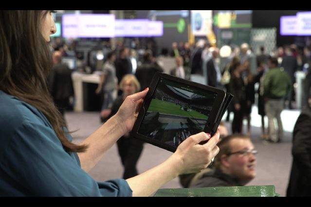 IBM und die mobilen Endgeräte auf der CeBIT 2014