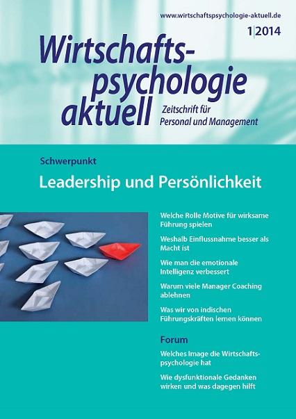 Wirtschaftspsychologie Aktuell