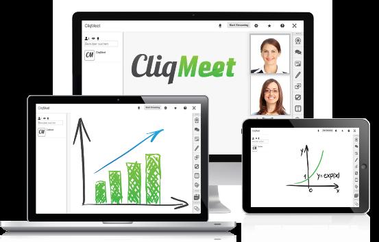 CliqMeet, Webinare, Online-Meetings, Online-Seminare