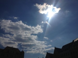Sonne, Sonnenschein, Sommer, Augsburg, Stadt