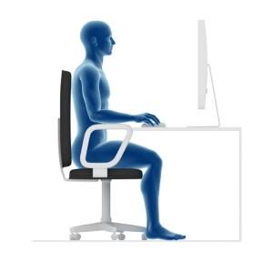 Arbeitsplatz, Mitarbeiter, Gesundheit, Rücken, Nacken