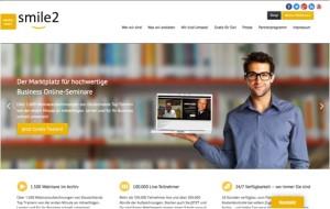smile2, Webinare, Online Seminare, Webinar, Cemal Osmanovic, Internet, Marktplatz