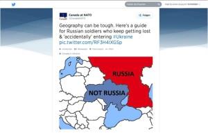 Canada, NATO, Russia, Ukraine, Twitter