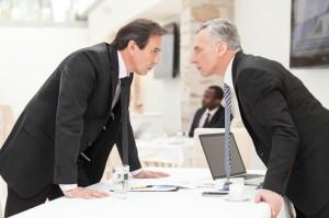 Unternehmenskulturen, Diskussion, Streitigkeiten, Diskussion, Gespräch