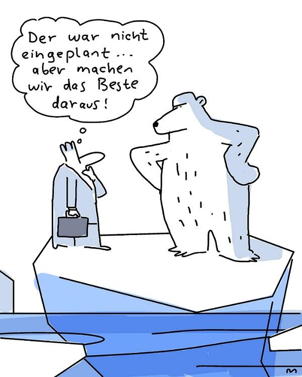 Barbara Wietasch, Führungssitten, Führung, Eisbär