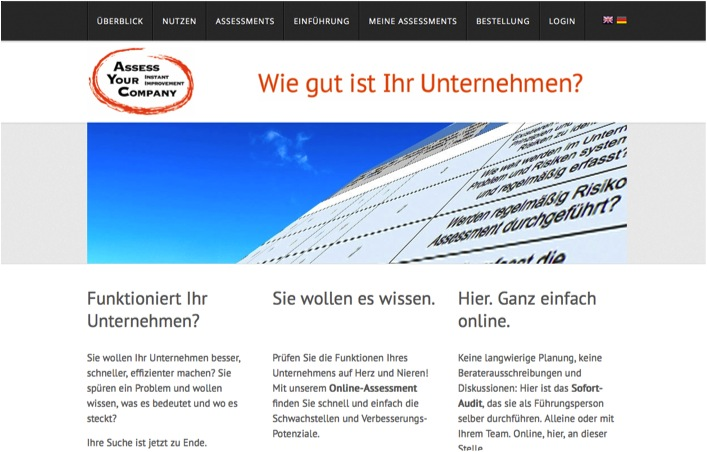 ASSESS YOUR COMPANY, AYC, AYC HR, HR-Assessment, IT-Assessment, Assessment, Evaluierung, Unternehmen, Unternehmensfunktion