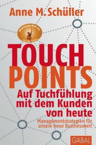 Danke-Aktionen, Buchcover, Cover, Touchpoints, Anne M. Schüller