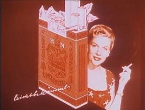 Rauchen, Werbung, Zigarettenwerbung, Zynismus, Screenshot