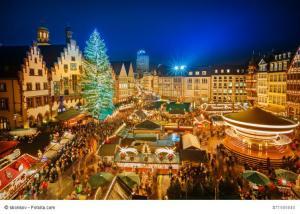 Weihnachten, Weihnachtsmarkt, Christkindlesmarkt, Weihnachtsmarkt, Frankfurt, Adventszeit