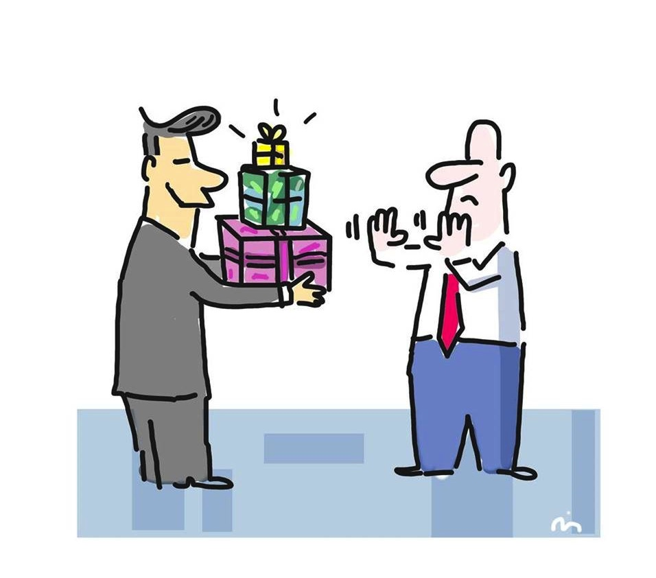 Compliance, Weihnachten, Geschenke, Schenken, Barbara Wietasch