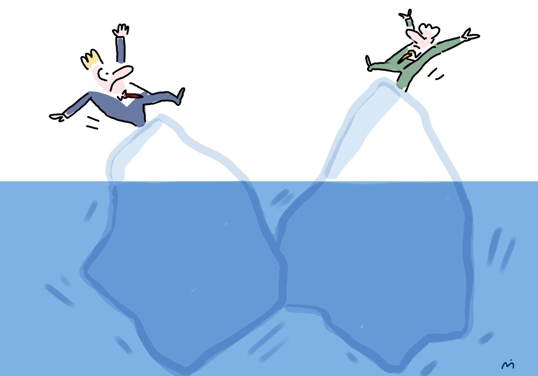 eisberg kollision, barbara wietasch, international dynamics