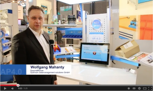 automatische Bilderkennung, logimat, Optimum datamanagement solutions GmbH, video