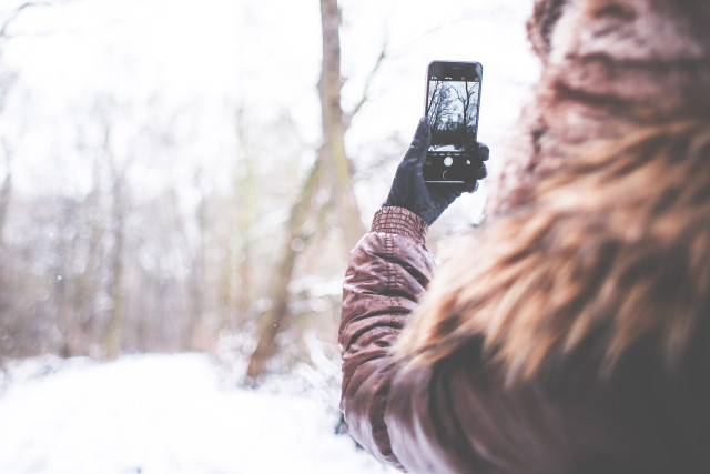 YouTube-Videos, iPhone, Smartphone, Winter