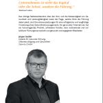 Jürgen Seckler, Wirtschaftsfaktor Gesundheit, BGM, Führung, BGF