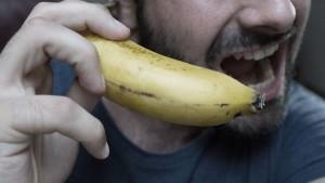 banane, telefonieren, smartphone, kommunikation, brief