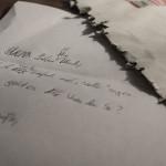 Brief, Ulrich B Wagner, kommunikation