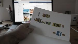 facebook, erpresserbrief