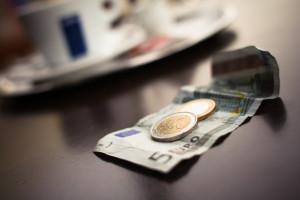 Empfehlungen, Geld, Euro, Kaffee, Café