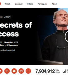 Richard St. Johns acht Geheimnisse für Erfolg