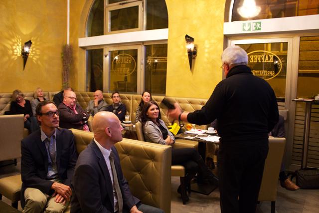 Impressionen vom 4. AGITANO Unternehmergespräch